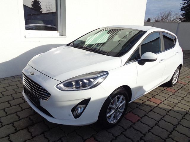 Ford Fiesta Titanium 1,0 EcoBoost Start/Stop bei Ford Gaberszik Graz in