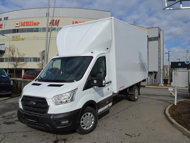 Ford Transit *KOFFERAUFBAU MIT LADEBORDWAND* Diesel Front 2,0 EcoBlue L4H1 350 Trend bei Ford Gaberszik Graz in