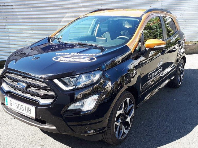 Ford EcoSport 1,0 EcoBoost ST-Line Obsidian Schwarz bei Ford Gaberszik Graz in